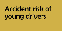 Accident risk of young drivers