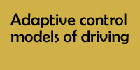 Adaptive control models of driving