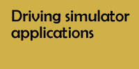 Drivig simulator applications