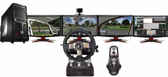 desktop driving simulator