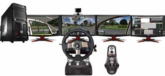 desktop research driving simulator