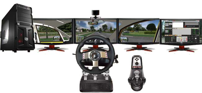 driving simulator image