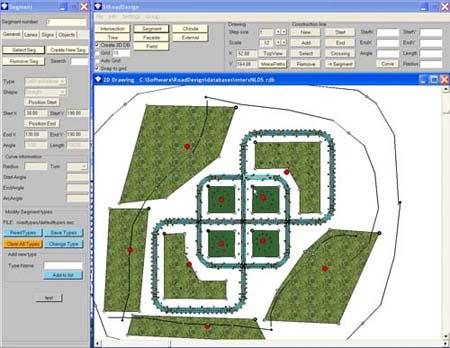 road design software research driving simulator